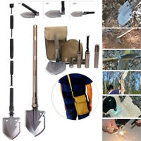 Utility Ordnance Folding Camping Shovel Outdoor Self-defense Survival Tool PQ