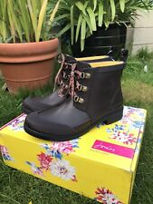Joules Ashby Laced Ankle wellies Size 5 RRP £45