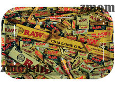 New Raw Rolling Tray All New Mixed Items Metal Small