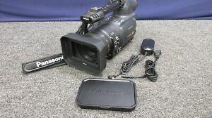 Panasonic DvcPro 3CCD HD P2 MiniDv AG-HVX200-AP Video Camera Camcorder Media