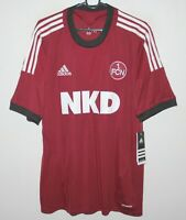 1. FC Nurnberg Germany home football shirt 13/14 Adidas BNWT Size XL