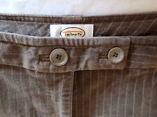 $68 NWT TALBOTS VELOUR STRETCH PANTS  FLAT FRONT NEW 16
