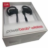 Dr. Dre Beats Powerbeats3 In-Ear Wireless Earphones  MIC Black Fast Charge $149