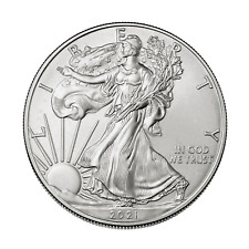 2021 American Liberty Silver Eagle 1Oz Fine Silver Plated Coin 1 Troy Ounce #S16