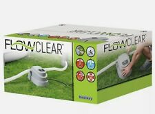 More details for bestway flowclear 2.8kw pool heater for above ground pools up to 15ft brand new