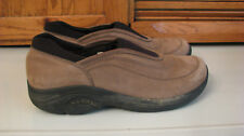 SHOES Merrell MOCS Light Brown Suede Leather Woman's 9 Slip On WOW