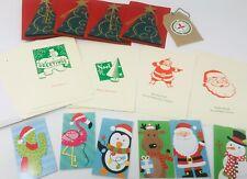 Junk Journal Christmas Supply Ephemera Cards Mini Notebooks Tag Envelopes