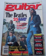 Guitar For The Practicing Musician December 1995 Beatles Foo Fighters Anthrax