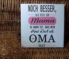 Dekofliese Wandbild Bildfliese Noch besser als Dich .(078DP) Muttertag Geschenk