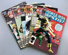 Marvel POWER MAN & IRON FIST #112 114 115 116 120 125 LOT Heroes For Hire READER
