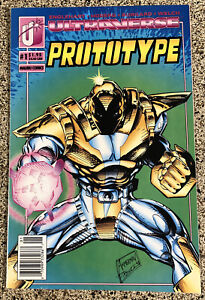 Prototype #1 Ultraverse Malibu Comics 1993 + Bonus Comic
