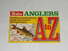 The Sun Anglers A To Z. Vintage Coarse Fishing Booklet. Guide To Local Spots.