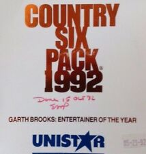 "Garth Brooks ""Entertainer of the Year"" 3 Hr/3 CD RARE 1992 Radio Special Unistar"