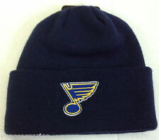 NHL St. Louis Blues Reebok Winter Knit Hat NEW!