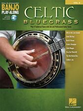 Banjo Play-Along Celtic Bluegrass Learn to Irish Songs MUSIC BOOK ONLINE AUDIO
