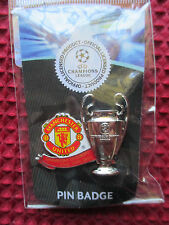 MANCHESTER UNITED OFFICIAL MERCHANDISE 3x *CHAMPIONS LEAGUE WINNERS BADGE*