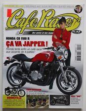 CAFE RACER Magazine 42 HONDA CB 1100R Bonneville CR&S DUU - HS5006000918
