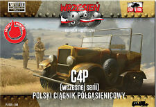 First to Fight 044 Polish half-track tractor (Early series) 1/72