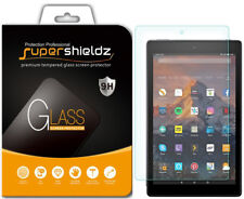 2X Supershieldz Tempered Glass Screen Protector for Amazon Fire HD 10 (2017)
