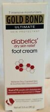 New listing Gold Bond Ultimate Diabetic Dry Skin Relief Foot Cream 3.4oz