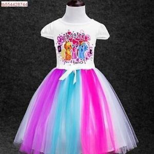 My Little Pony Tutu Dress Rainbow Dash Dress Party Fancy