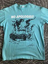 Supreme No Apologies T-shirt Rare Color Large