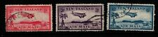 New Zealand 1935 Air Mail  SG570-72 Used