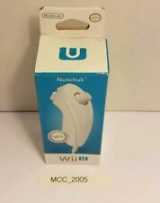 Nintendo Wii U Nunchuck White, works with Wii too. Official Nintendo product