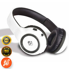 iDance Blue300 Wireless Bluetooth Head Phones iPod iPhone 5 6 6Plus White
