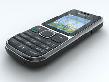 Nokia  C2-01 - Schwarz (Ohne Simlock) Handy (A00002528)