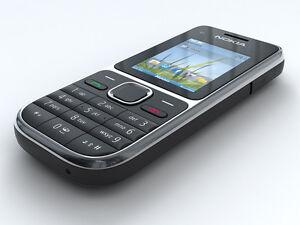 Nokia C2-01 - Black-Silver (Ohne Simlock ohne Branding) Handy  ..:::NEUWARE:::..