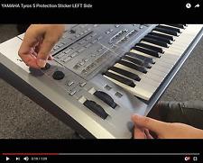 Para yamaha Nínive 5 Keyboard protección sticker para volumen sa button modulación, Pitch