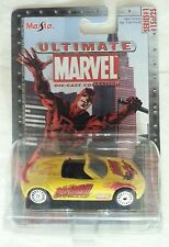 NEW DAREDEVIL BUICK BENGAL DIE CAST CAR SERIES 1 15 OF 25 MAISTO ULTIMATE MARVEL