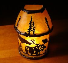 MOOSE SILHOUETTE CABIN TABLE LAMP OR LODGE WALL SCONCE LIGHT Home Decor NEW
