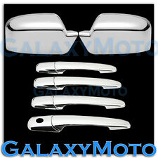 06-12 Ford Fusion+06 Lincoln Zephyr Chrome Mirror+4 Door handle no PSG KH Cover
