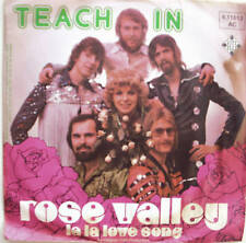 "7"" 1975 DUTCH POP ! TEACH IN : Rose Valley // MINT- \"