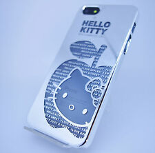 New Hello Kitty Chrome Hard Case Cover For Iphone SE / Iphone 5S