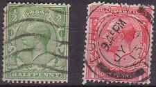 GREAT BRITAIN. 1912 series KGV.Set of two .Used
