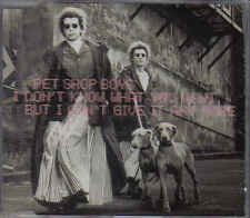 Pet shop boys- I dont Know What You Want cd maxi single