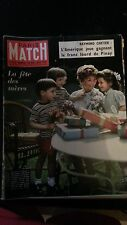 "PARIS MATCH n°529 1959 ""raymond cartier"""