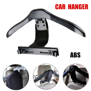 1×Car Back Seat Headrest Hanger Holder Hook for Clothes Coat Suit Jacket Grocery