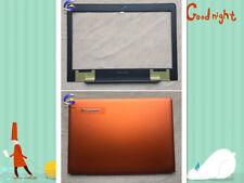 New Lenovo U41-70 S41-70 S41-35 S41-70 300S-14ISK Orange LCD Back Cover + Bezel