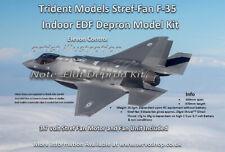 1 x Lockheed Lightning F-35 Depron Indoor EDF Micro RC Jet W/ E.D.F Unit,Motor