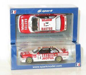 1/43 BMW M3 E30  Bastos Motul  Rally de France Tour de Corse 1989 #14 F.Chatriot