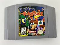 Banjo Kazooie Nintendo 64 N64 Video Game Cartridge Only OEM Authentic Tested!