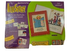 ILLUSTORY Make-A-Book Kit Publish Create Illustrate Write Your Own Book Sealed