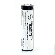 Batteria Ricaricabile Litio NCR18650B + PCM 3.6V 3.4Ah CT
