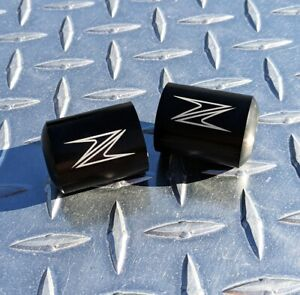 Z Logo Bar Ends Sliders - Z250 Z300 Z400 Z650 Z750 Z800 Z900 Z1000 ZH2 Kawasaki