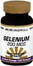Windmill Selenium 200 mcg Tablets 60 Tablets (Pack of 2)