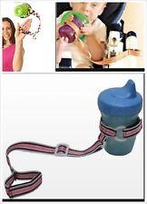 Slip Resistant Belt Baby Bottle Strap - Purple
